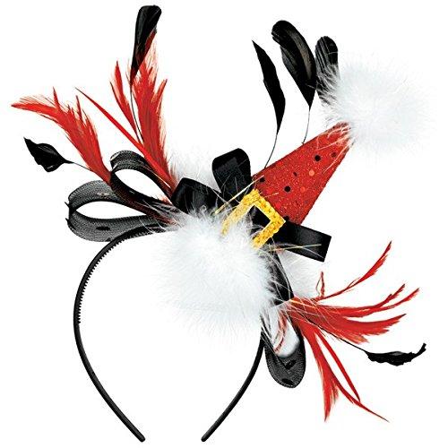 Amscan Multicolored Fashionable Fabric Headband | Christmas Accessory