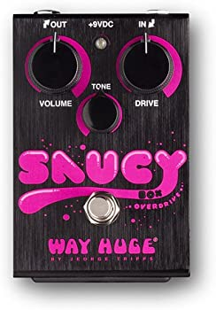 Way Huge Electronics Saucy Box Overdrive Guitar Effects Pedal