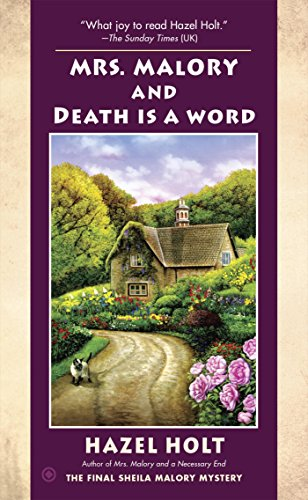 Mrs. Malory and Death Is a Word (Mrs. Malory Mystery Book 20)