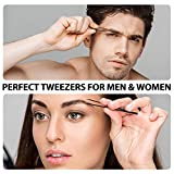 Eyebrow Tweezers, Terresa 4 Pack Stainless Steel
