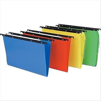 Bertesi Cartesio PP A4 Poliestireno Azul 25pieza(s) archivador colgante - Carpeta (A4
