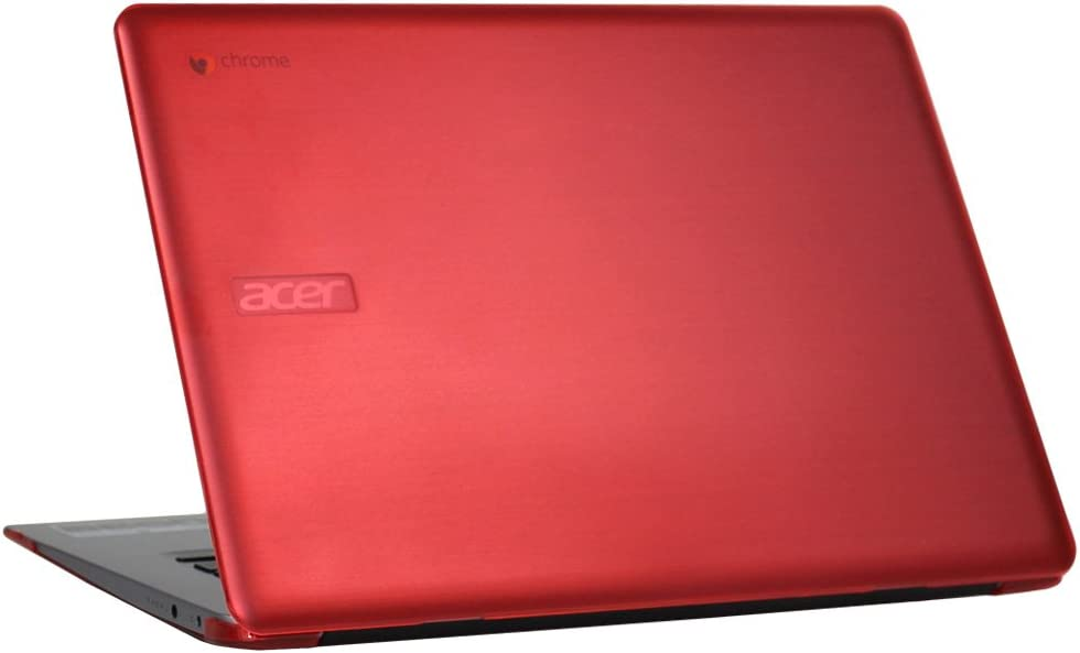"""mCover Hard Shell Case for 15.6"""" Acer Chromebook 15 CB515 Series (NOT Compatible with Older C910 / CB5-571 / CB3-531 Series) Laptop (Red)"""