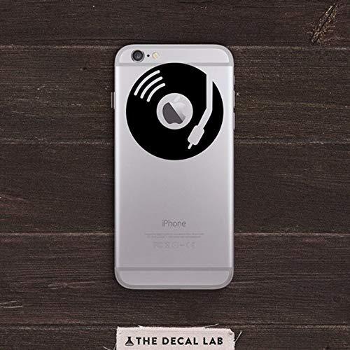 BYRON HOYLE DJ Apple Turntable Vinyl iPhone Decal BAS-0150