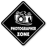 PHOTOGRAPHER ZONE Sign xing gift novelty camera lens film supplies solution