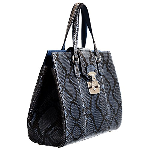 Gucci-Womens-Caspian-Blue-Python-Skin-Handbag-Shoulder-Bag
