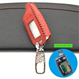 TW 9010 TW9010 LCD Remote Control Key Fob Chain/Car Key Case for Russian Version Two Way Car Alarm System Tomahawk TW-9010 Color Name B Style js red