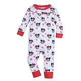 Disney Baby Girls' Minnie Mouse Stretchie, Size 3-6 Months