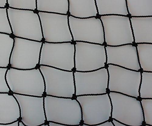 Pieloba Geflügelzaun Geflügelnetz schwarz Küken Masche 3 cm Stärke: 1,5 mm Größe: 1,00 m x 15 m