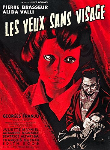 Posterazzi Eyes Without A Face (Aka Les Yeux Sans Visage) Edith Scob Pierre Brasseur 1959. Movie Masterprint Poster Print, (11 x 17)