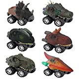 DEDY Pull Back Dinosaur Cars with Big Tire Wheel - Best Gifts