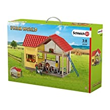 Farm Life 42334 Barn with Animals and Accessories Figurine by Farm Life