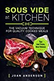 Are you ready to try the well-known method of sous vide but you don't know how? Or you have already begun cooking the sous vide but are still looking for the new recipes? In any way, I have a great cookbook special for you! I would lik...