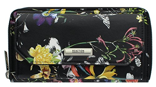 Kenneth Cole Organizer - Kenneth Cole Reaction Womens Urban Organizer Wallet (BLOOMING BOTANICAL)