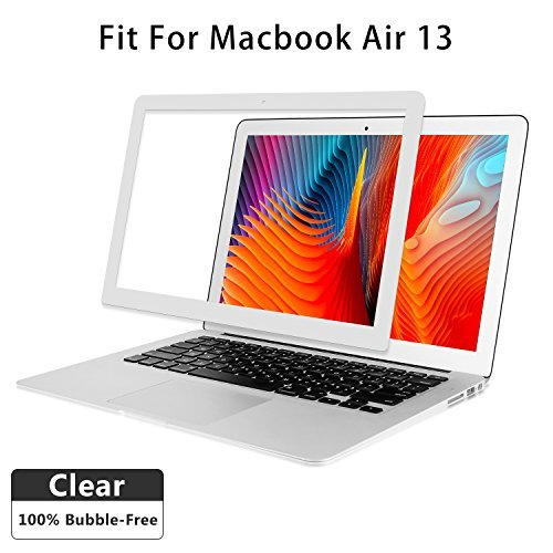 ANTOGOO Air 13 inch Clear Screen Protector, HD Clear Screen Film for MacBook
