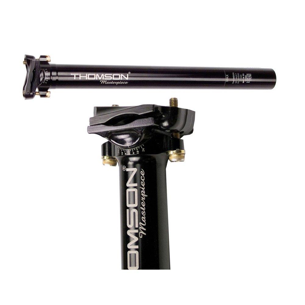 Thomson Masterpiece Sattelstütze 16mm Versatz schwarz (Ausführung: 27,2/240mm)