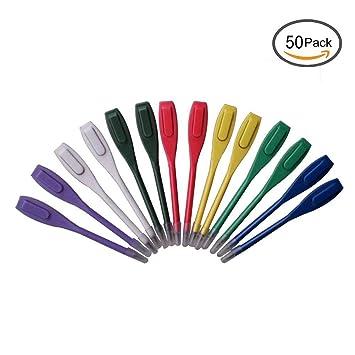 Puntuación de palos de golf de plástico de colores mezclados ...