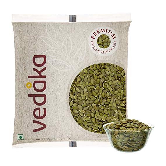 Amazon Brand - Vedaka Premium Pumpkin Seeds, 500g