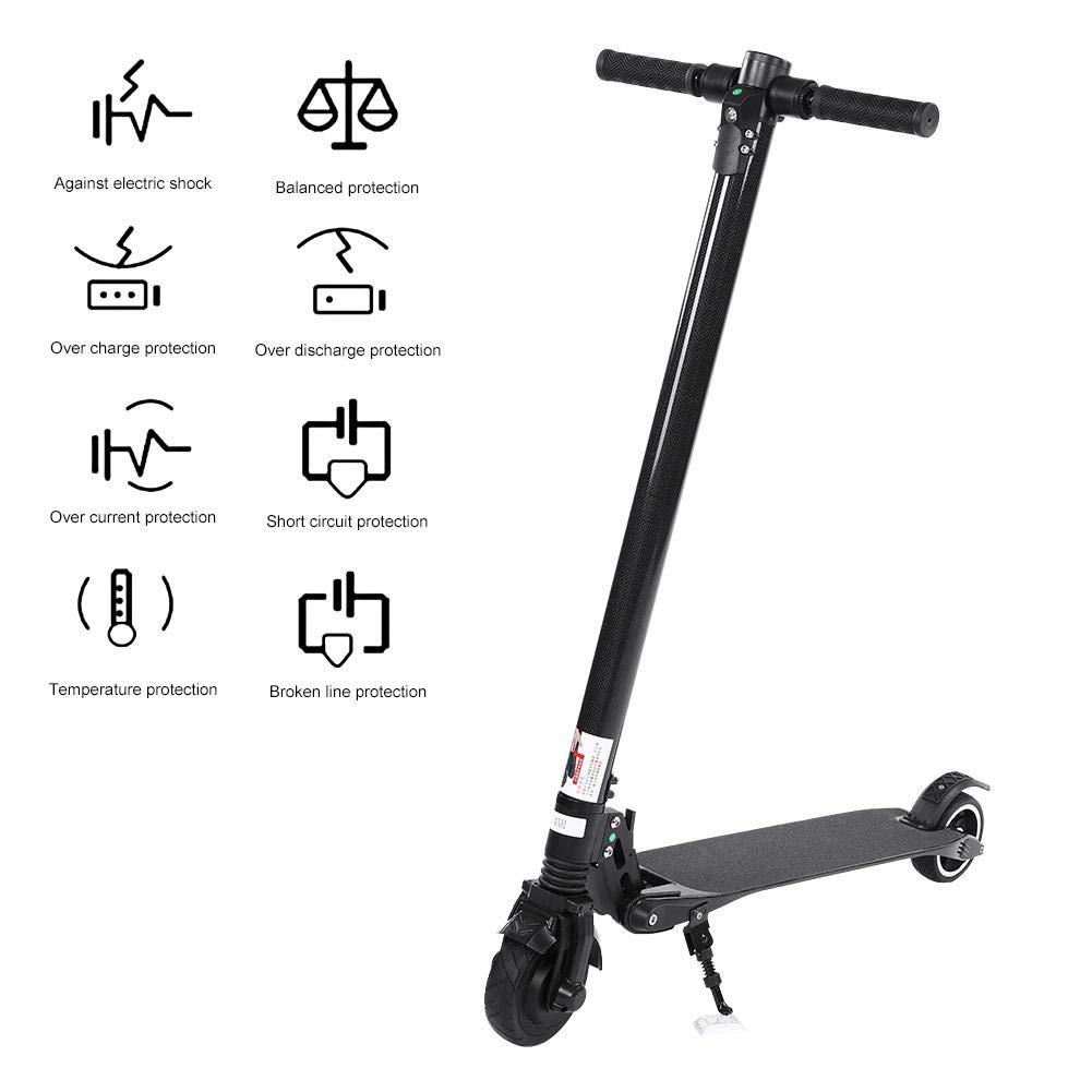 E-Bicycle Foldable Waterproof Electric Portable Folding Carbon Fiber Adult Kick Skateboard Outdoor Ride Electric Cycling Bike 10 AH 100V-240V