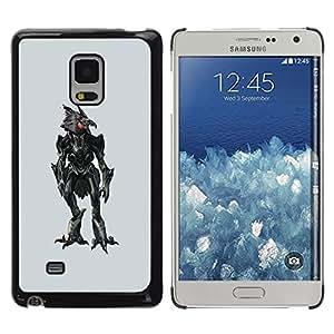 Be Good Phone Accessory // Dura Cáscara cubierta Protectora Caso Carcasa Funda de Protección para Samsung Galaxy Mega 5.8 9150 9152 // Evil Robotic Chicken
