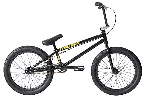 Eastern Bikes Orbit BMX Bicycle, Gloss Black, 20″/One Size Best Deal
