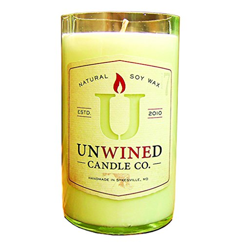 Unwined's Signature Series Oak & Amber Candle, 12 oz Soy Wax