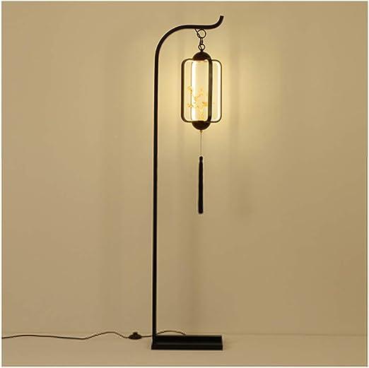 FDOI Lámpara de pie China Sala de Estar de Estilo Chino Moderno ...