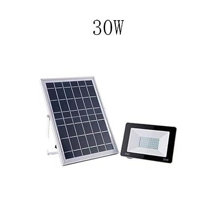 H-XH Solar Foco Proyector LED,Proyector A Prueba De Agua ...