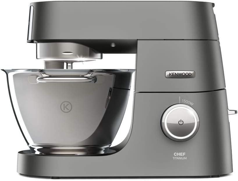 Kenwood, KVC7300S - Robot amasador, color plateado: Amazon.es: Hogar