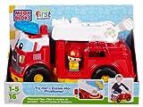 Mega Bloks First Builders Firetruck Finn