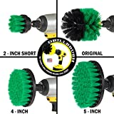 Bathroom Cleaning Scrub Brush and Nylon Power Brush Tile and Grout Kit