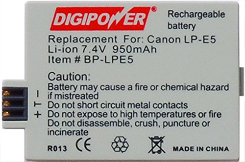 Digipower BP-LPE5 Replacement Li-ion Battery for Canon ()