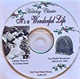 It's A Wonderful Life-Jimmy Stewart-Live Radio Theater-Holiday Classic-1947 Audio CD