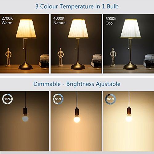 Loratap Ampoule Variateur Led DimmableLampe AmbianceAvec E27 ulFK5T1c3J