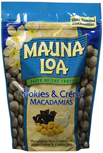 Mauna Loa Cookies & Crème Flavored Macadamias, 10 Ounce ()