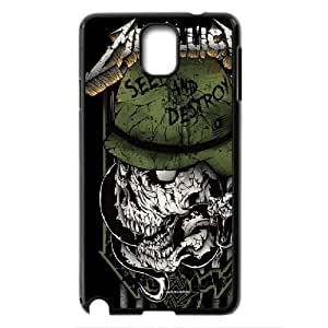 Rock band Metallica Hard Plastic phone Case Cover For Samsung Galaxy NOTE3 Case Cover ART143554