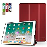 TNP iPad Mini 4 Case (Red) - Ultra Slim Lightweight Folio Smart Cover Stand with Auto Sleep Wake Feature and Hard Rubberized Back for Apple iPad Mini 4 7.9 Inch Tablet 2015 Release