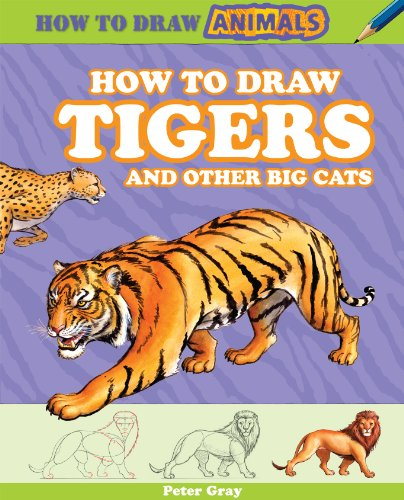 (How to Draw Tigers and Other Big Cats (How to Draw Animals (Powerkids)))