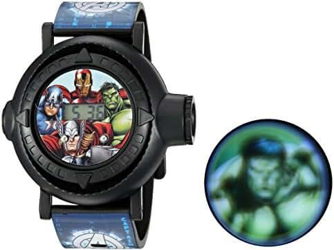 Marvel Boy's Quartz Plastic Casual Watch, Color:Blue (Model: AVG3516)