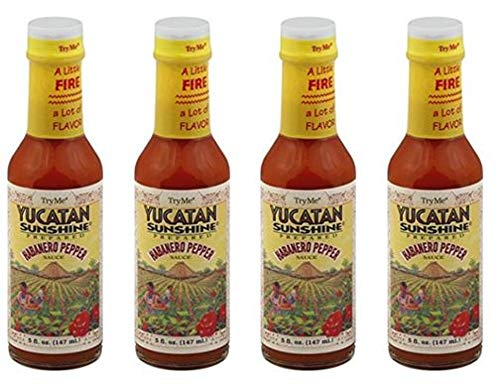 Try Me Yucatan Sunshine Sauce 5oz (Pack of 4)