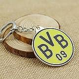 Official Soccer Team Football Club Borussia Dortmund Metal Keychain, Keyring, Pendant