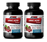 weight loss products - URIC ACID FORMULA EXTRACT 1430Mg - kidney support for men - 2 Bottles (120 Capsules)