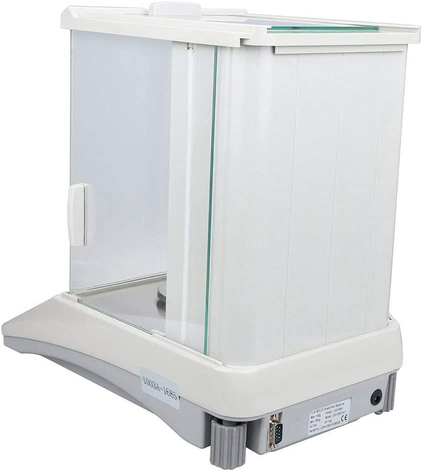 ZHLZH Balanza Electrónica Digital LCD, Balanza analítica Digital, Báscula electrónica precisa 0.1mg para Laboratorio/Farmacia/joyería/Planta química: Amazon.es: Deportes y aire libre