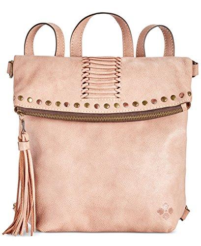 Patricia Nash Washed Denim Luzille Convertible Backpack (Blush)