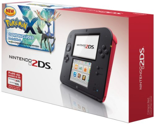 Nintendo 2DS Crimson Pre installed Pok%C3%A9mon Game