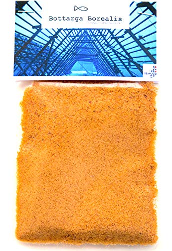 Bottarga Borealis Grated Dried Cod Roe 2.11 oz From The Depths Of The Norwegian Arctic