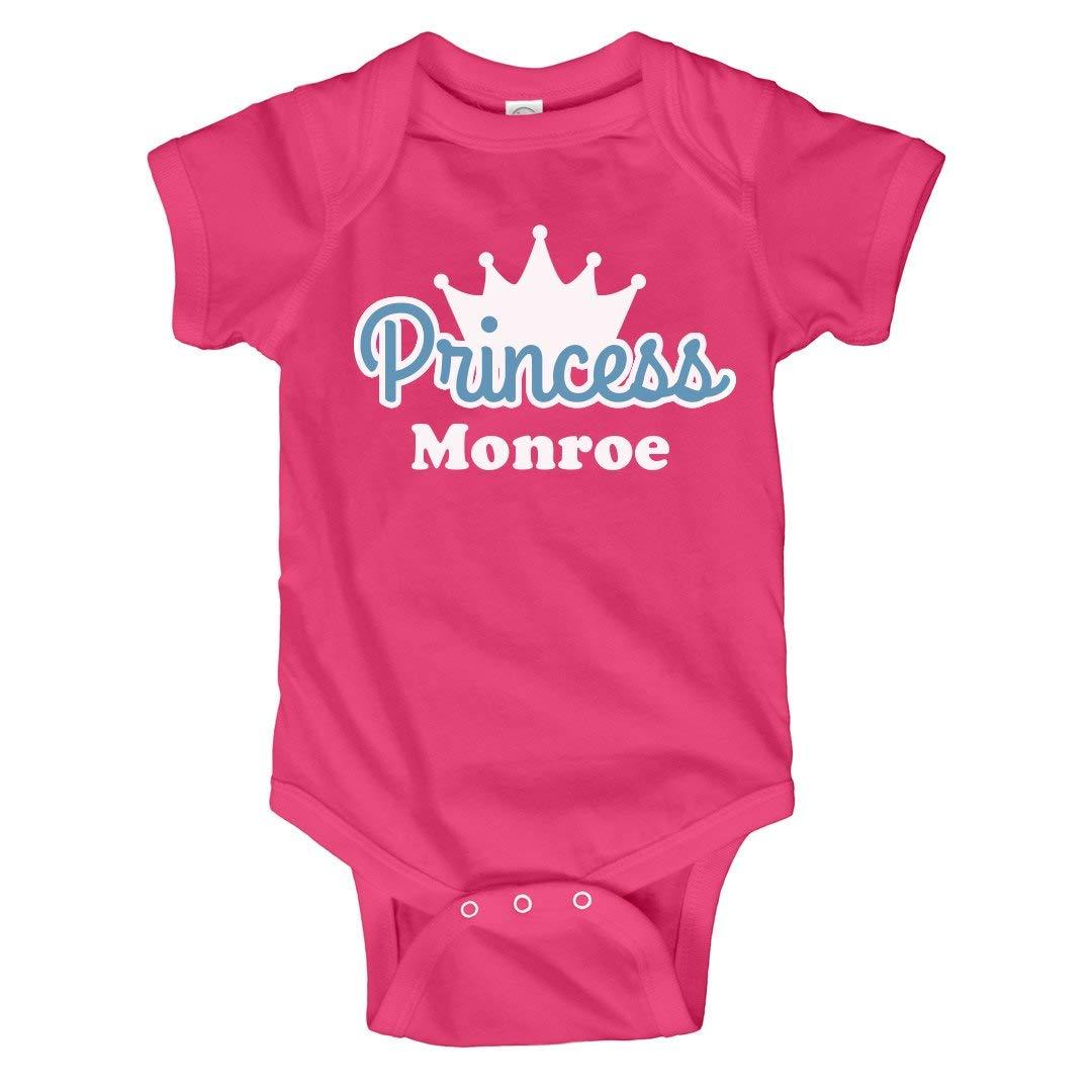 b349eee65 Amazon.com: Princess Monroe Onesie: Infant Bodysuit: Clothing