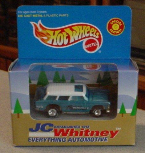 Hot Wheels JC Whitney Nomad Station Wagon GREEN 1:64 Scale