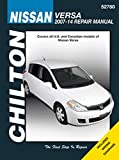 Chilton Total Care Manual Nissan Versa 2007-2014 (52780)
