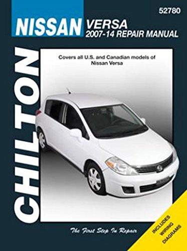 amazon com chilton total care manual nissan versa 2007 2014 52780 rh amazon com nissan versa service manual pdf nissan versa repair manual pdf