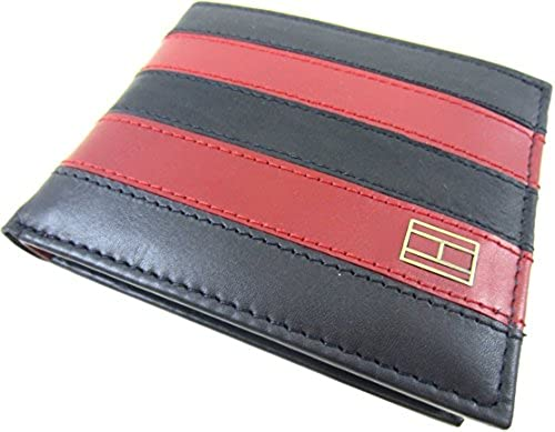 06. Tommy Hilfiger Men's Worchester Passcase Wallet with Removable Card Case